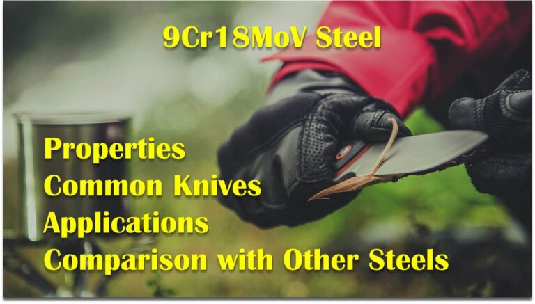 9cr18mov steel knife properties